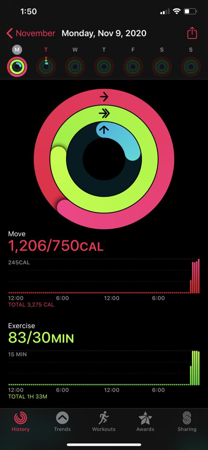 Working out with Apple Watch question?