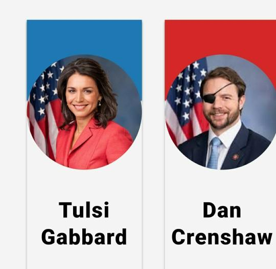 Would you support a Dan Crenshaw/Tulsi Gabbard ticket for 2024?