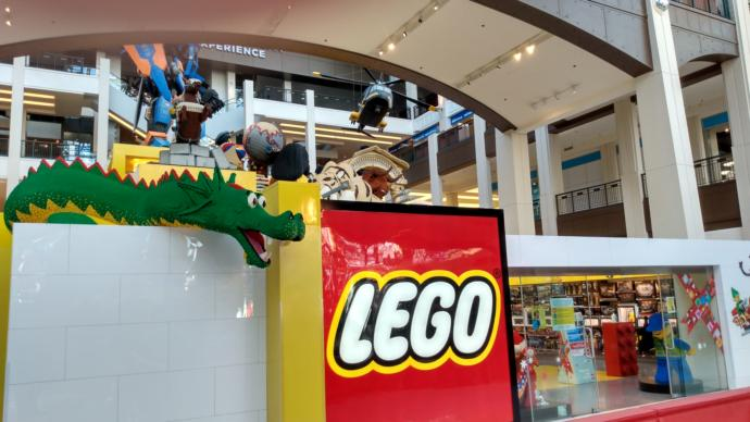 What is the most interesting Lego set I saw at the Mall of America Lego store?