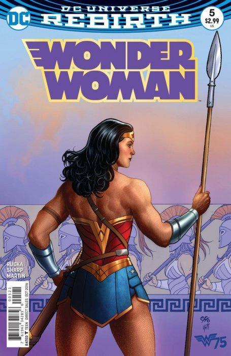 Wonder Woman in comics