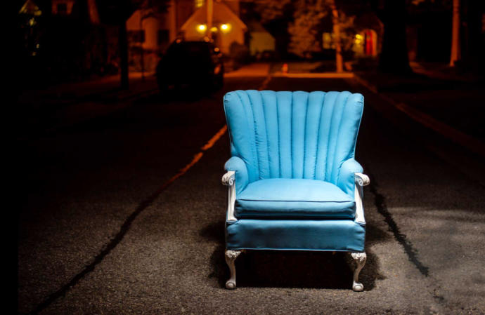 If A Mystery Chair Suddenly Appeared That Could Take You To Any Random Place In The World Would You Sit In The Chair & Disappear?