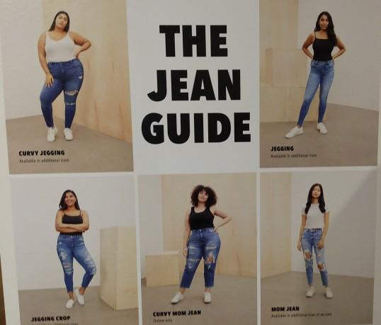 Is there such a thing as having over 30 different types of jeans and which types of jeans have you worn before?