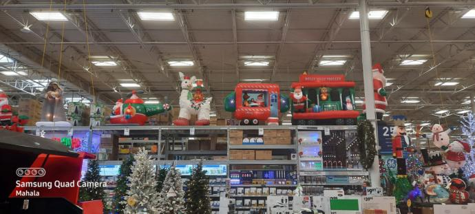 Which of these Christmas inflatables do you like best?