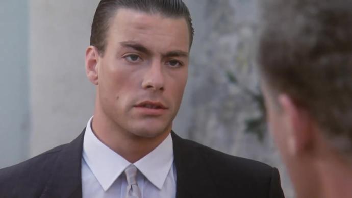 Is he Jean-Claude Van Damme?