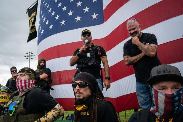 Is your opinion of the Proud Boys positive or negative?