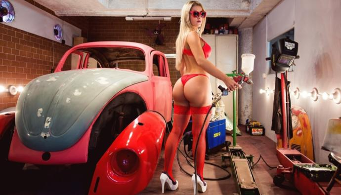 Would You Let A Mechanic Fix Your Car Dressed In Underwear?