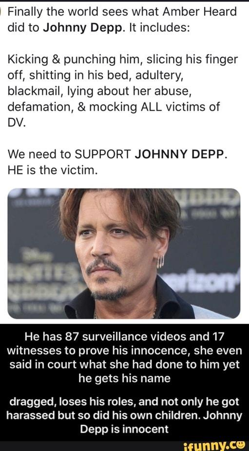 Why are feminists silent about the domestic abuse Johnny Depp suffered?