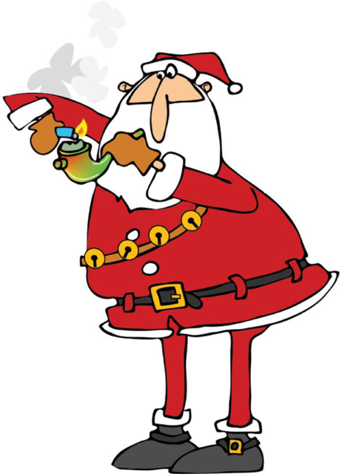 If Santa Clause Smoked Pot Do You Think Christmas Would Be Different & If So How So?