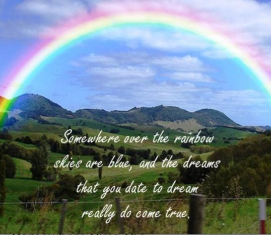 Other Than Gold, What Would You Hope To Find At The End Of The Rainbow?
