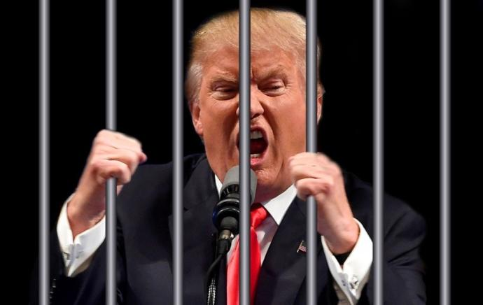 Is Trump afraid to admit defeat because he knows he will be indicted and facing at least two federal felonies once he is out of office?