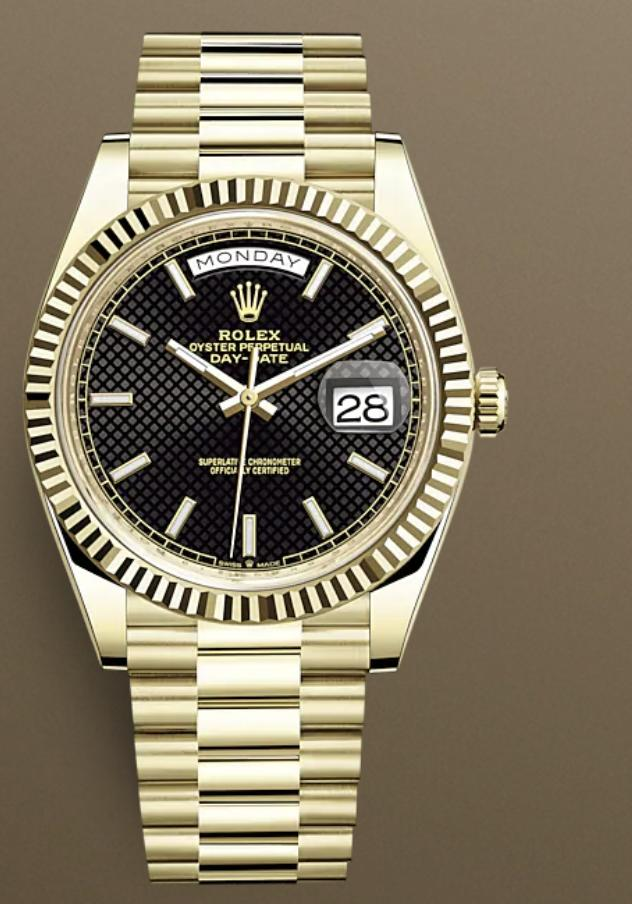 If your wealthy crush wore this $57k gold Rolex with a black dial as his day to day watch would you be put off by this even if he was really nice?