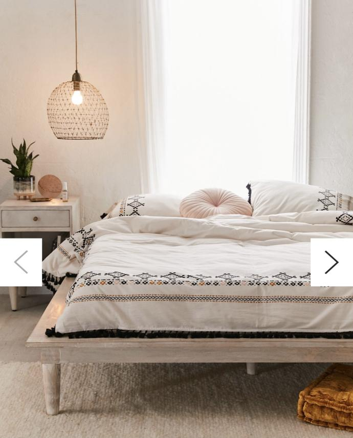 Which bed frame do you like better?