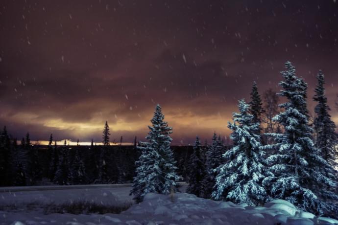 Have you heard of  Polar night  ?