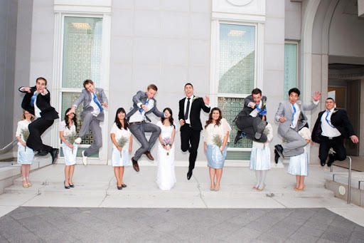 Have you ever been in someones wedding party?