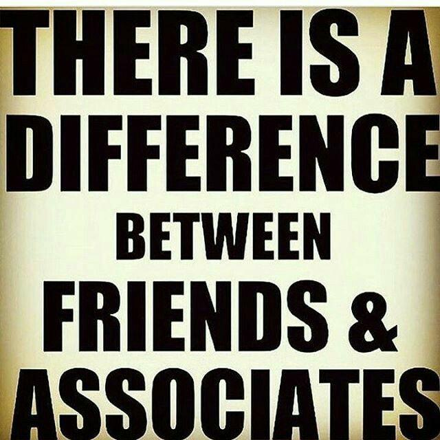Do you prefer to have friends or associates? And why?