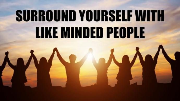 In what areas is it most important to you to be around like-minded people?