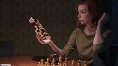 "Anya Taylor-Joy from ""the Queen's Gambit"""