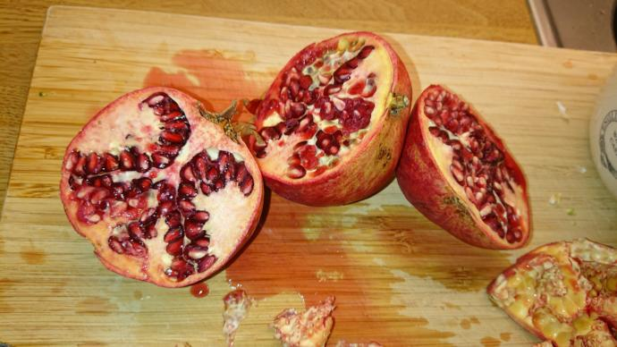Pomegranate? Yes or no?