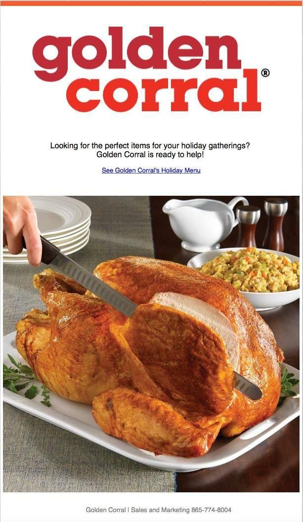 Are you going to get your Thanksgiving dinner from a restaurant and would you ever consider doing that?