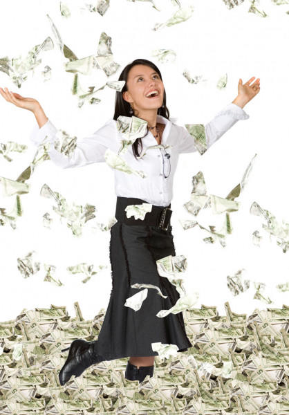 If you get a large sum of money without actually working for it, do you feel guilty?