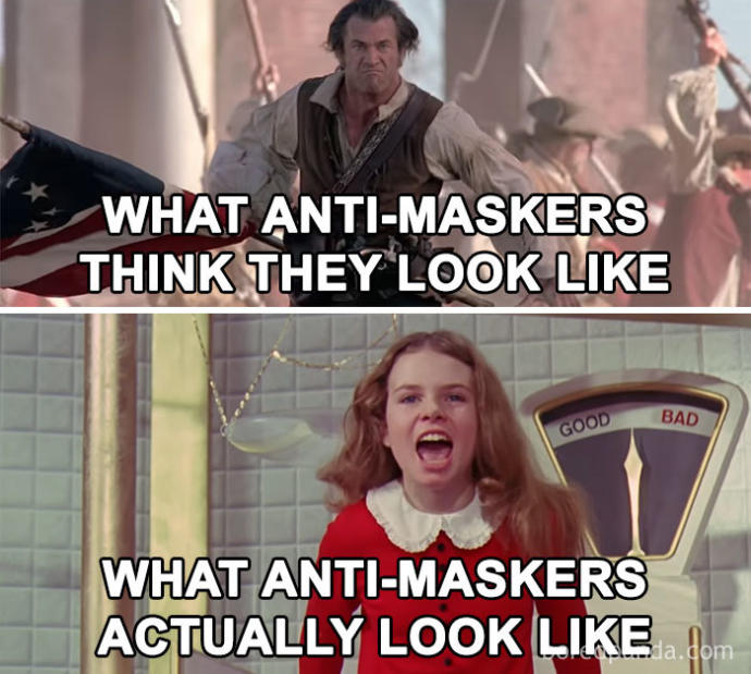 Whats your reason for not wearing a mask?