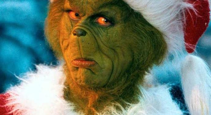 Is the Grinch initially a commie bastard who hates Christmas?