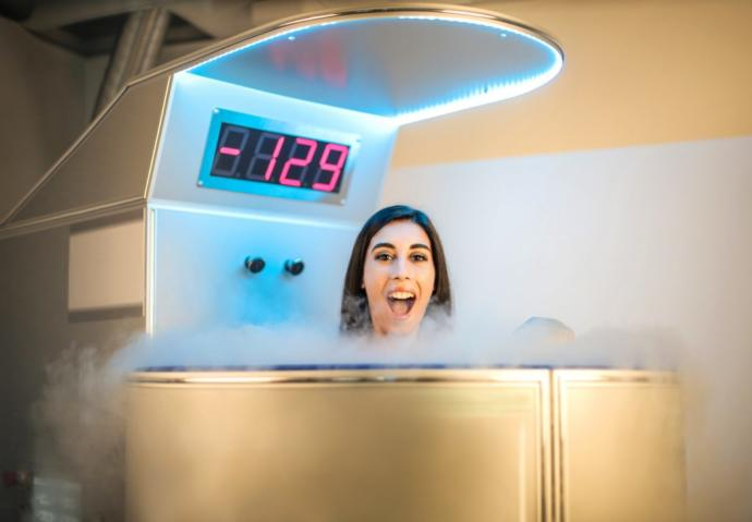 Do you know what cryotherapy is? Would you attend a cryotherapy session?