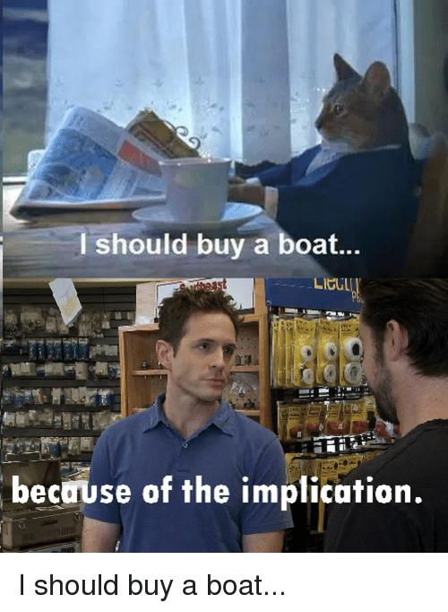 Bought a boat as an investment