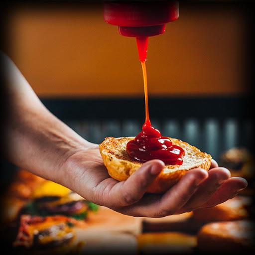 Ketchup on a burger!Yes or No?