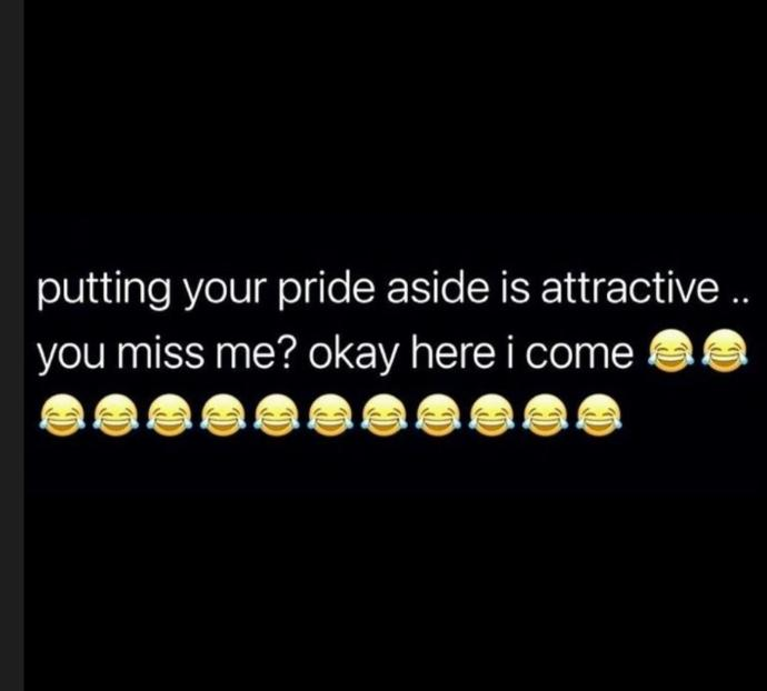Are you able to put your pride aside for your SO?