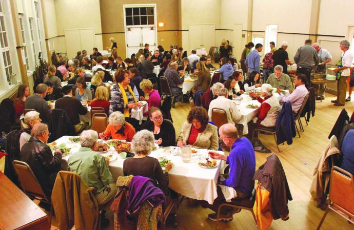 Have you ever been to a church Thanksgiving dinner?