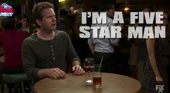 Are you a 5 star man?
