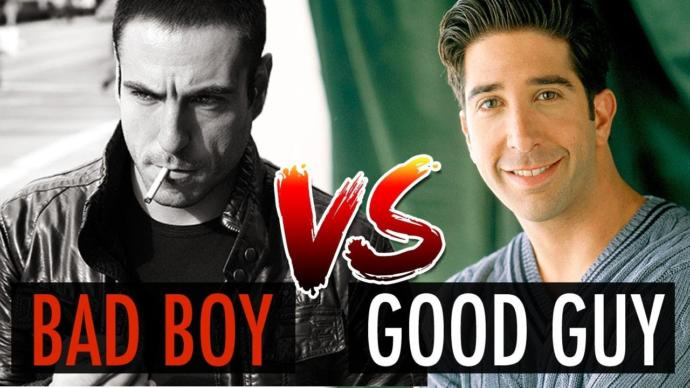 Gals... What's difference between good boys and bad boys?