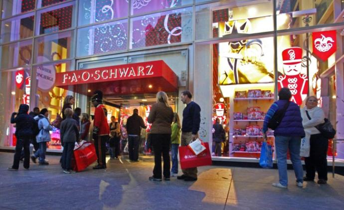 If you were to go into an FAO Schwarz Store and you were allowed to take one thing for free, what would it be?