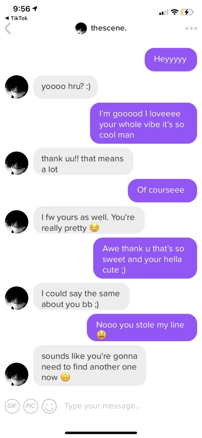 How do I respond to him in a flirty but creative way?