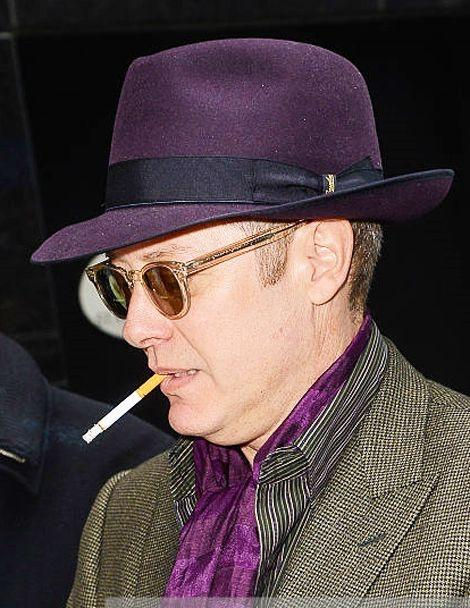 James Spader has an eidetic memory, how cool is that?