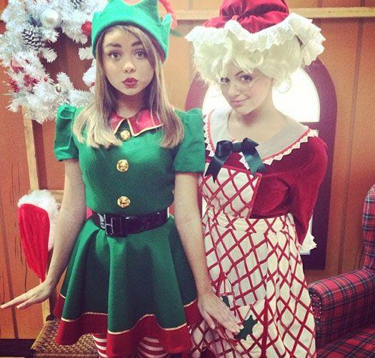 War on Christmas. Do you find chicks dressed up as Christmas elves & Mrs Santa outfits sexy or should this be banned?