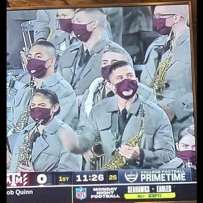 Have we reached peak mask stupidity?