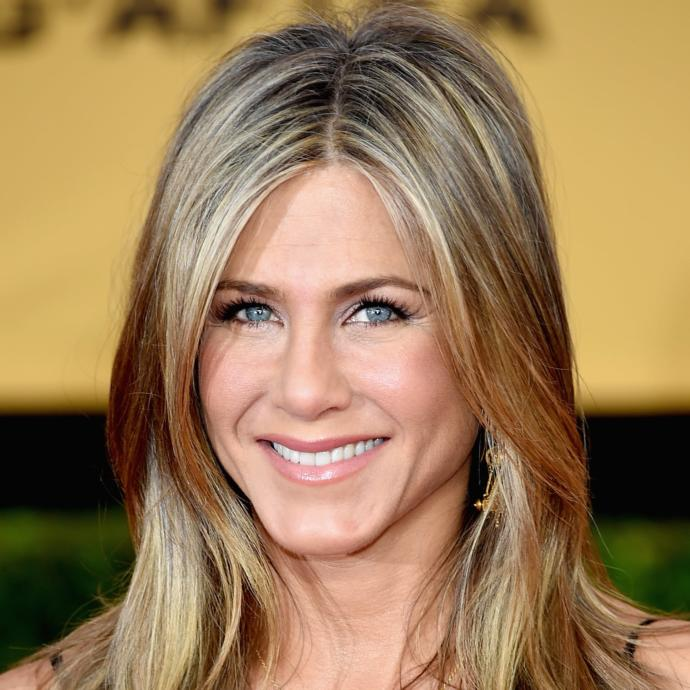 Jennifer Aniston: Not my type at all.