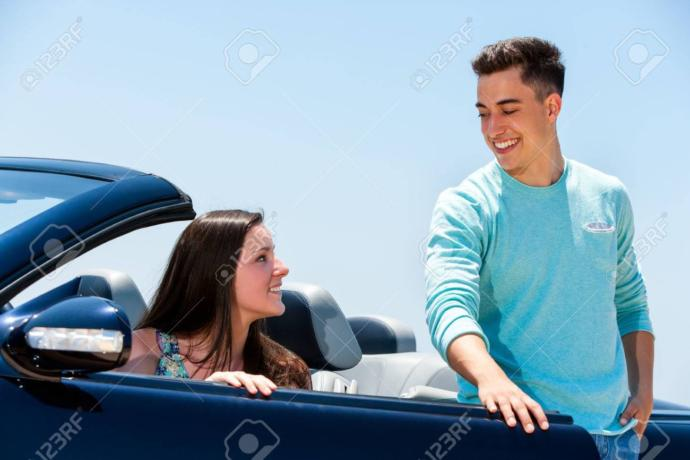 Girls, does it ever get old to open and close the car door for you all the time? Guys, do you still do this?
