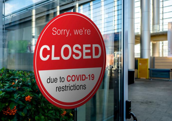 Should government be allowed to shut down a business without compensation due to a pandemic?