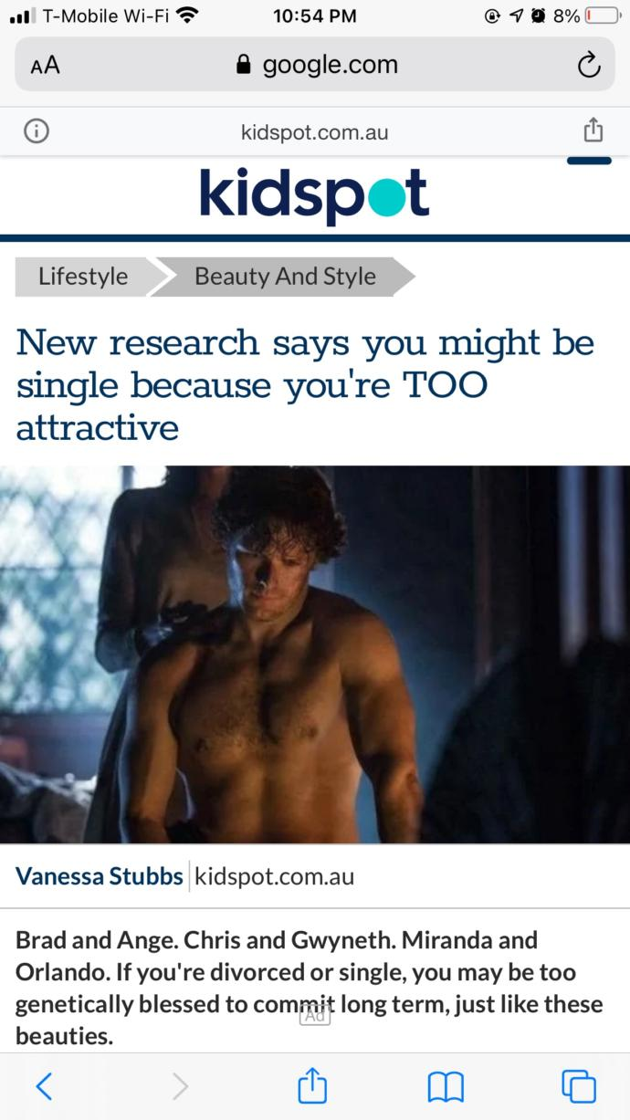 BREAKING NEWS. If you are single then that means youre too attractive to be approached. How does that make you feel?
