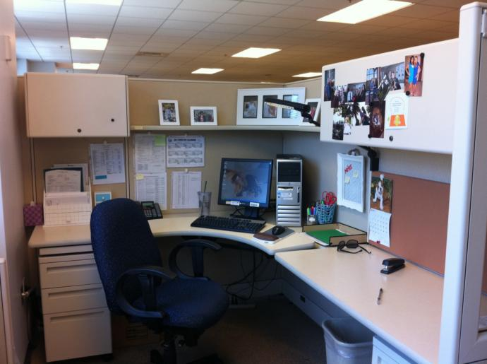 Do you like working in a cubicle?