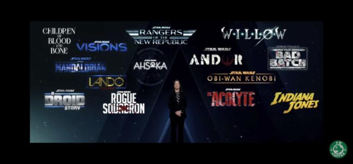 Look at all of these Star Wars shows!! Are you excited?