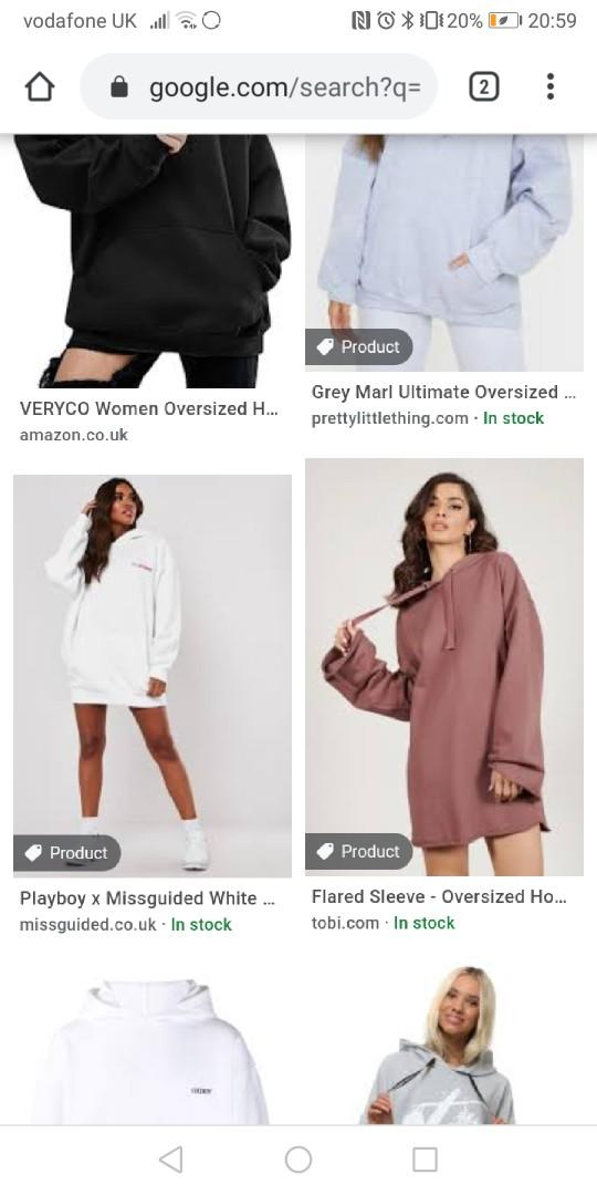 Good places to buy oversized hoodies for a manageable price?