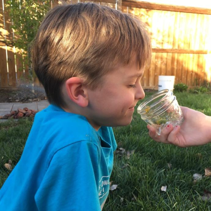 What is a smell you remember from childhood?