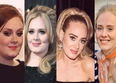 Do you like Adele before or after her weight loss?