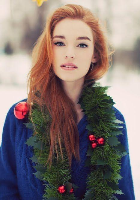 Can ginger hair be festive to have and useful to match with outfits during the holidays?
