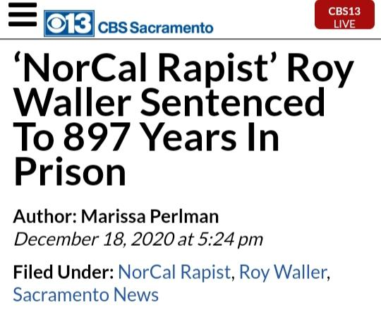 Rapist in ca gets 897 years in jail for his crime what could of been a better punishment?