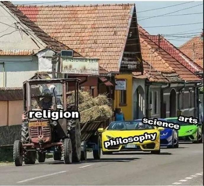 Is it lazy to believe in God?